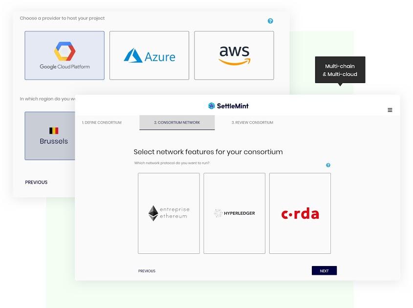 SettleMint Blockchain Platform Infrastructure
