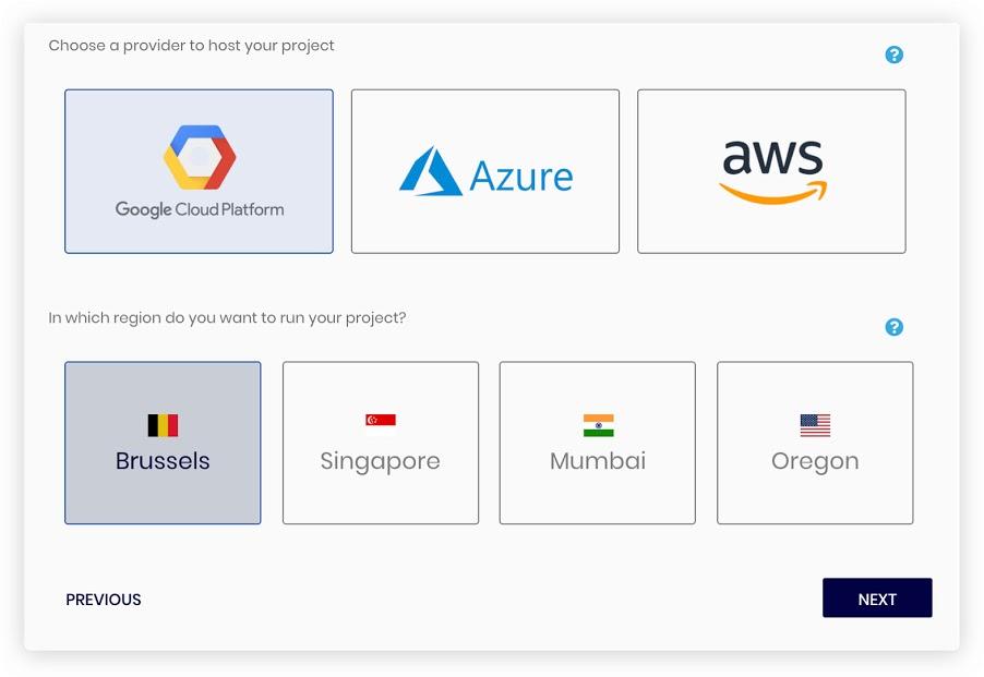 SettleMint Blockchain Platform multi-cloud