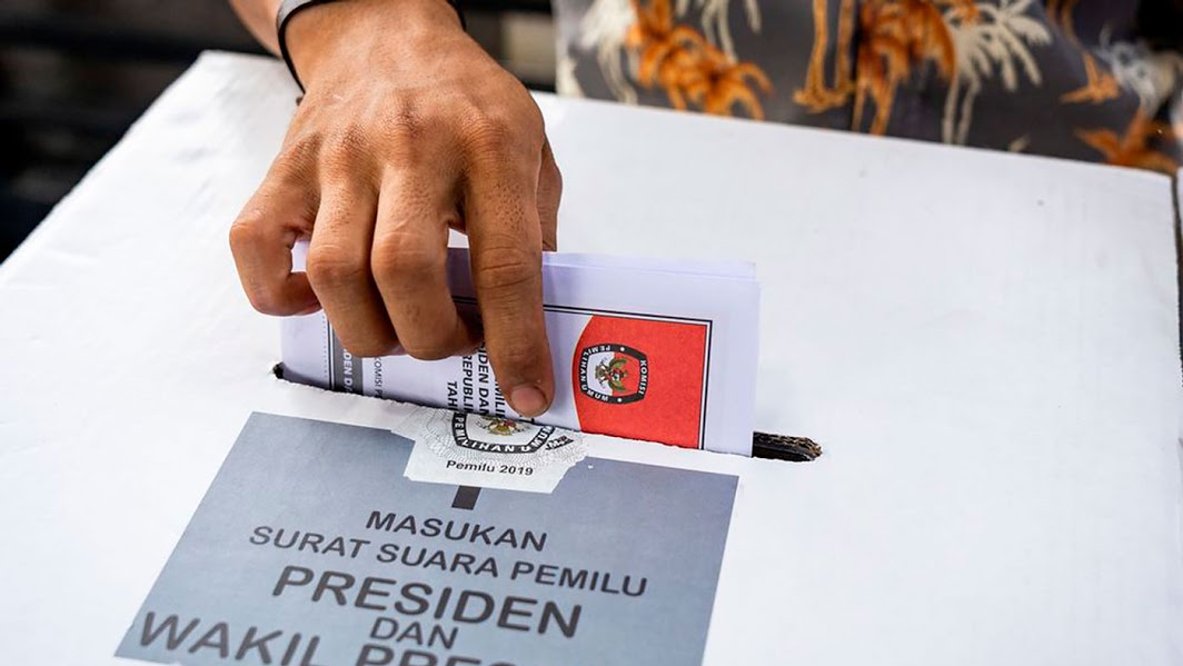 Indonesian elections blockchain